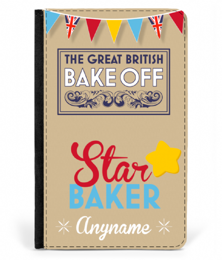 Great British Bake Off Design Personalised Star Baker Passport Cover